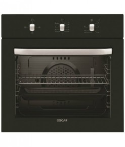 OSCAR 7255 Ank.0+3 Fonk.Siyah Panel Statik Fırın