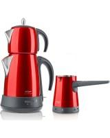Arzum AR 3008 Ehlikeyf Delux Çay ve Kahve Makinesi Seti
