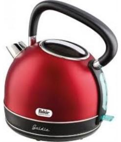 Fakir Goldie 1,7 lt 2200 W Paslanmaz Çelik Su Isıtıcı - Kırmızı
