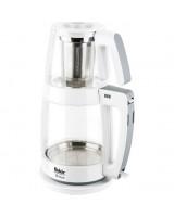 Fakir Shaye Cam Çay Makinesi Beyaz