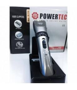 Powertec TR-2700 Çift Bataryalı Saç Sakal Tıraş Makinesi